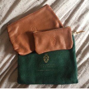 [Scuola dei Cuoio] Leather Coin Purse Set